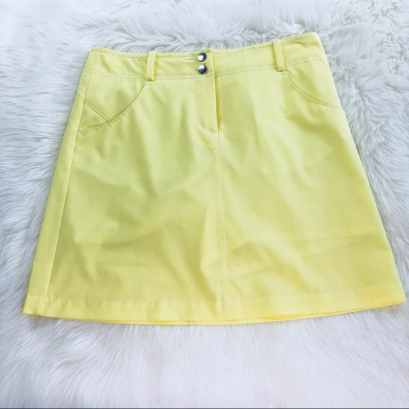 Annika Dresses & Skirts - Annika Cutter & Buck Yellow Skirt Sz 2